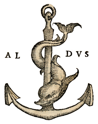 marca tipografica di Paolo Manuzio, 1561